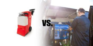 Rental Carpet Cleaning Machines vs. Professional Carpet Cleaners